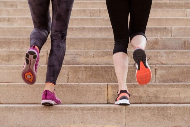 burn 1600 calories from Climbing stairs