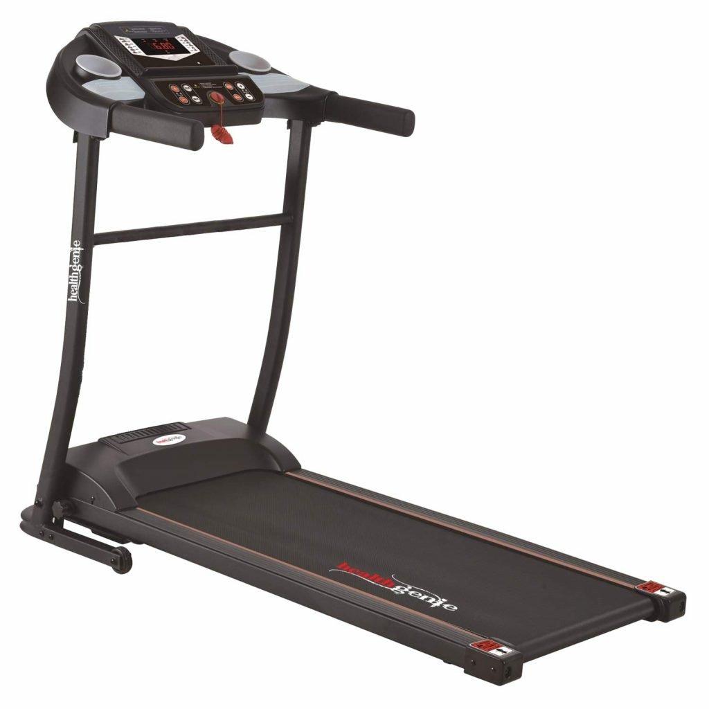 Healthgenie 3911M 2.5 HP Peak Motorized Treadmill for Home Use & Fitness Enthusiast