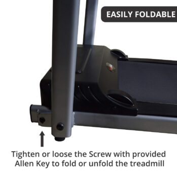 Healthgenie 3691PM Pre-Installed Motorized Treadmill for Home Use