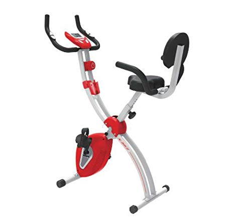 Cardio Max JSB Fitness Bike for Home Gym X-Bike Foldable Exercise Cycle with Backrest & Hand Support