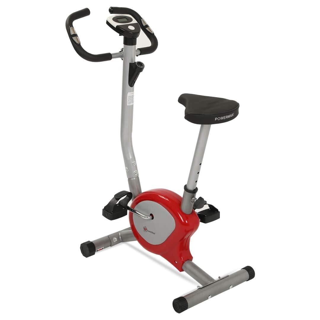 Powermax Fitness BU-200 Upright Bike/Exercise Bike for Home Gym