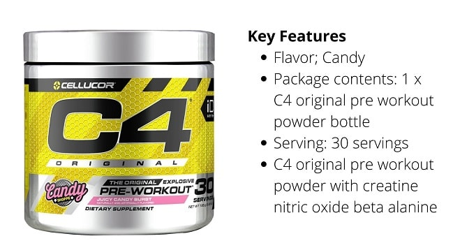 best pre workout supplement for muscle gain