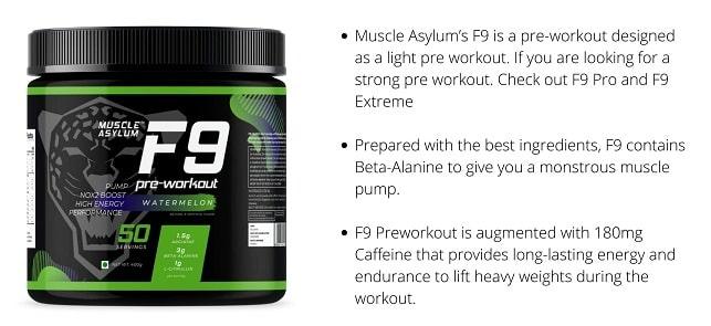 Pre workout best supplement