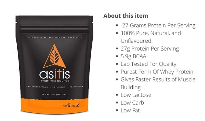 as-it-is whey protein Elect 5 Best whey protein powder for weight loss in India 2021