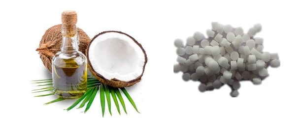 coconut oil and campur remove scars naturally from face permanently