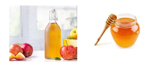 Apple vinegar with honey