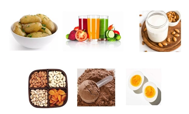 Effective weight gain diet plan for female