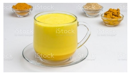 haldi dudh improve poor digestion and gas